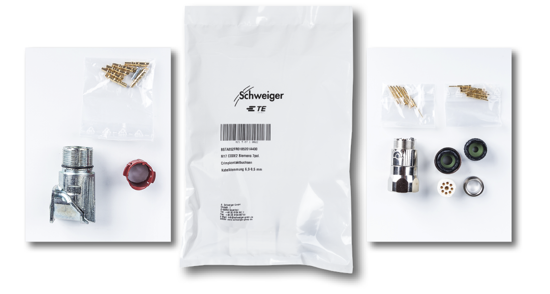 Schweiger Kitting Service Stecker Kits
